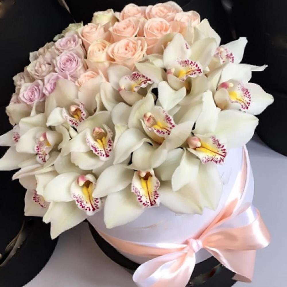 Весенние свадебный, донецк букет орхидея фото